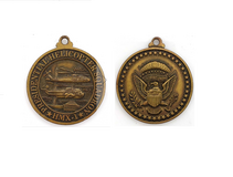 Presidential Helicopter HMX-1 Marine One Medal Keychain in Camp Lejeune, North Carolina