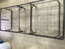 Metal bed frame in Yucca Valley, California