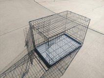 Folding Large Dog Crate in Yucca Valley, California