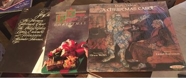 3 Christmas LPs in Plainfield, Illinois