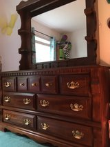 Solid wood 3 piece bedroom set in Chicago, Illinois