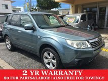 2 YEAR WARRANTY AND NEW JCI!! 2008 SUBARU FORESTER!! FREE LOANER CARS AVAILABLE NOW!! in Okinawa, Japan