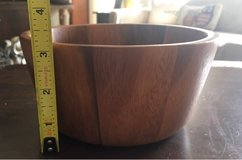 Small Wood Salad Bowl in Yorkville, Illinois