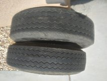 2 175/80/13 trailer tires in Yucca Valley, California