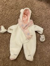 Reduced: American Girl Bitty Baby Snowsuit in Naperville, Illinois