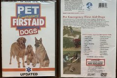 Pet Emergency First Aid DVD - Dogs in Bartlett, Illinois