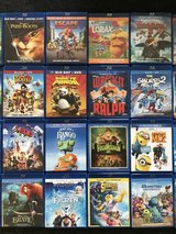 Children's movies - Blu-Ray only in Warner Robins, Georgia