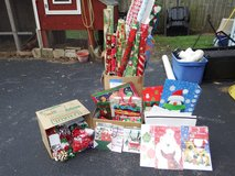 Christmas wrapping paper, gift bags, gift boxes & bows in Aurora, Illinois