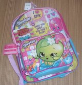 NEW Shopkins Backpack and Lunch Bag Set in Plainfield, Illinois