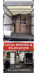 LOCAL MOVING RELOCATION PICK UP AND DELIVERY TRANSPORTATION in Ramstein, Germany