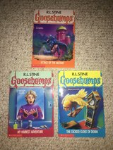 Like new! 3 Books in Goosebumps Series - Books 25, 26 and 28 in Chicago, Illinois