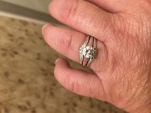 1ct solitaire diamond with Bands in Leesville, Louisiana