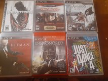 6 PS3 Games in 29 Palms, California