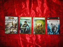 18 vintage pc/xbox360 etc games - check out detailed list and photos in The Woodlands, Texas