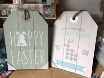 Wooden Easter Signs in Warner Robins, Georgia