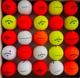 25 Callaway Superhot color balls near mint condition in St. Charles, Illinois