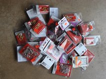 PACKS OF DIFFERENT SIZES AND COLORS OF CUP HOOKS in Bartlett, Illinois