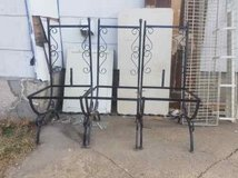 wrought iron chair frames in Fort Riley, Kansas