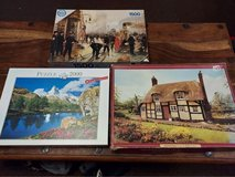 bundle of three jigsaw puzzles. price is for all in Lakenheath, UK