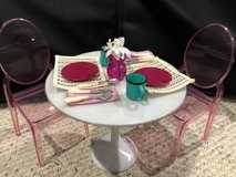 Our Generation Kitchen table and chairs American Girl in Naperville, Illinois