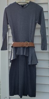 Grey Jersey Dress, Size 8 in Aurora, Illinois