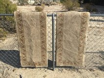 "Rug runners, 22 1/2"" x 89"" in 29 Palms, California"