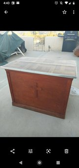 solid wood table with laminate top in 29 Palms, California