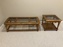 Coffee and End Table Set in Yorkville, Illinois