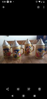 vintage german beer mugs in 29 Palms, California