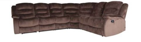 United Furniture - Derval Sectional - Both end seats recline - including delivery in Wiesbaden, GE