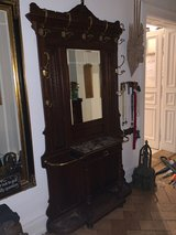 Antique Victorian garderobe wardrobe ca.late 19th century in Wiesbaden, GE