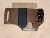 Leather Sheath for Leatherman Multitool or Knife  Pocket Organizer with Key Holder for Belt in Yorkville, Illinois