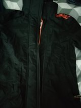 superdry  jacket  large  grey black one size small in Lakenheath, UK