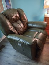 Leather Electric Recliner in Plainfield, Illinois