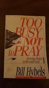 Too Busy Not to Pray Book in Naperville, Illinois