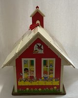 1971 Fisher Price Little People Play Family School with desk & merry-go-round in St. Charles, Illinois