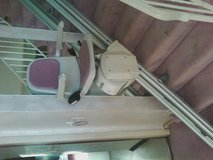 Acorn 130 Superglide stair lift in St. Charles, Illinois