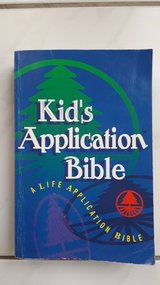 Kid's application Bible in Ramstein, Germany