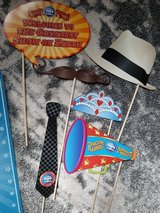Circus carnival photo props in Westmont, Illinois