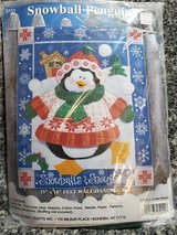 New Design Works Snowballs and Snowflakes Penguin Felt Wall Hanging Kit 5111 in Chicago, Illinois