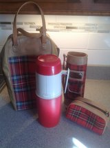 Red Plaid Thermos Holder and Thermos in Bartlett, Illinois