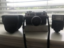 Yashica Camera and Vivitar Flash in Chicago, Illinois