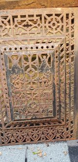 Antique grill screen/cover in Chicago, Illinois