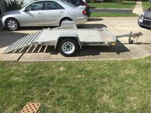 Aluma LTD 8x5' trailer in Joliet, Illinois
