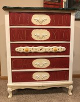 Hand-Painted Chest of Drawers in Naperville, Illinois