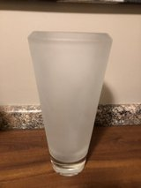 """New Vera Wang 12"""" Frosted Lead Crystal Vase in Naperville, Illinois"""