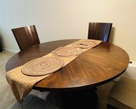 Round dining table set for 4 in Travis AFB, California