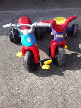2  Fisher price bike in Fort Lewis, Washington