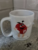 NEW Red, blue, yellow m&m's coffee mug in Plainfield, Illinois