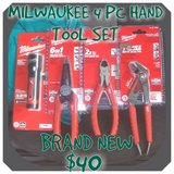 Milwaukee 5pc Hand Tool Set in Fort Lewis, Washington